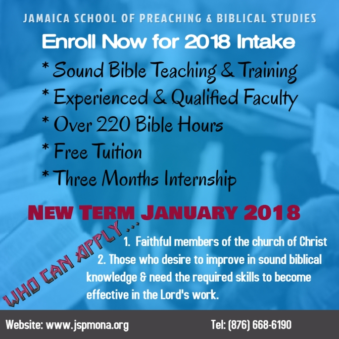 Copy of Bible Class Promo